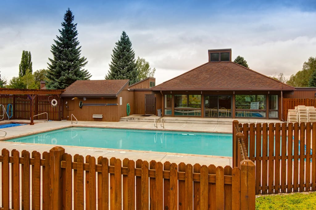 Spend the day at the heated pool and hot tub.