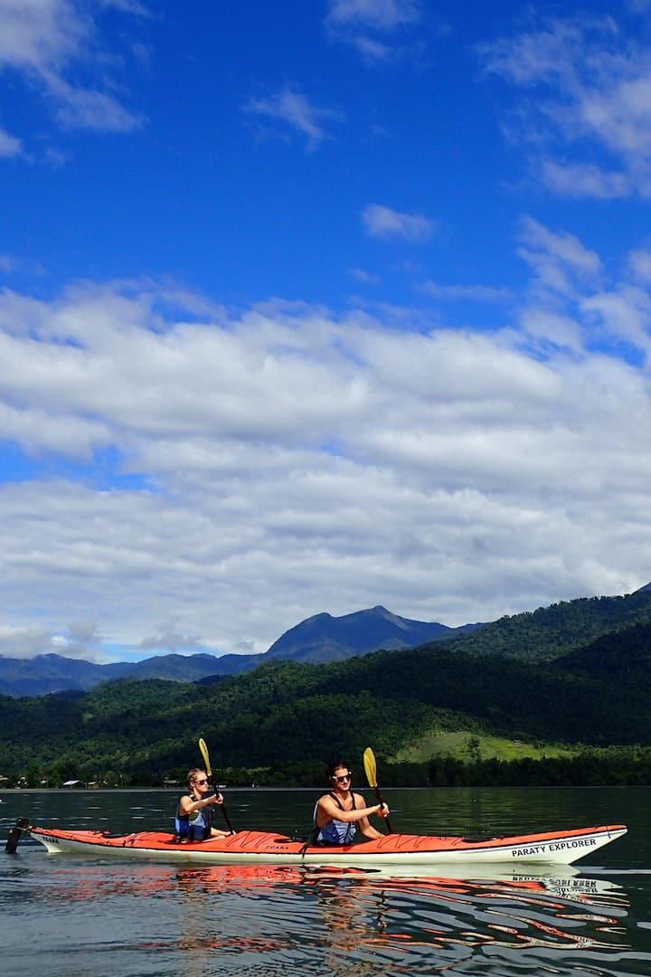 Costa Verde kayaking