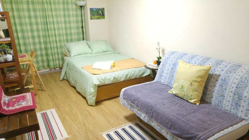 2 min from Koenji station / Cozy apartment +wifi - Suginami - Byt