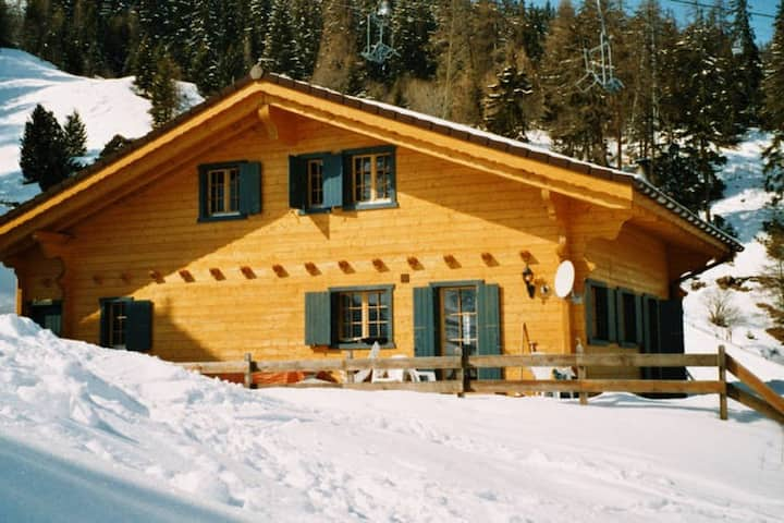 Chalet Alpina offers great views.