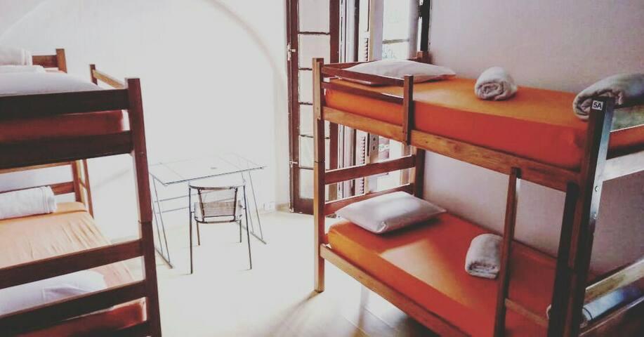 Hostel Paulista - Quarto compartilhado 4 pessoas