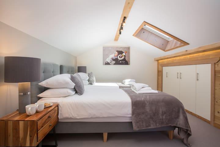 Bedroom 3 with ensuite shower room