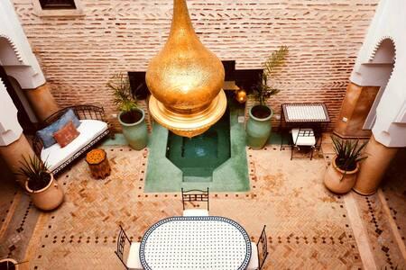 Moroccan passion at Marrakech Room # 1  Sahara