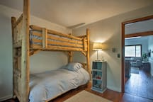 The home offers 2 bedrooms for guests to sleep in.