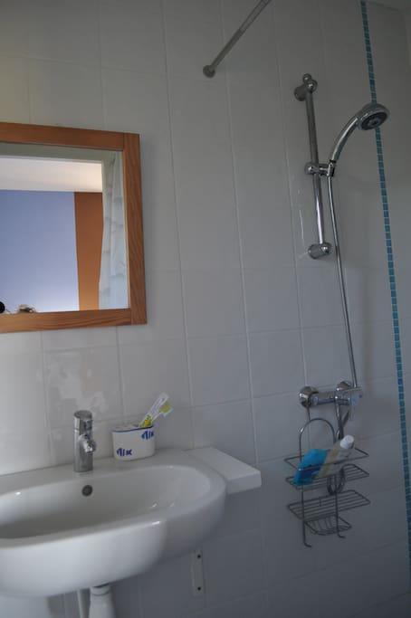 cabinet de toilette de la chambre 'Ciel et Terre'