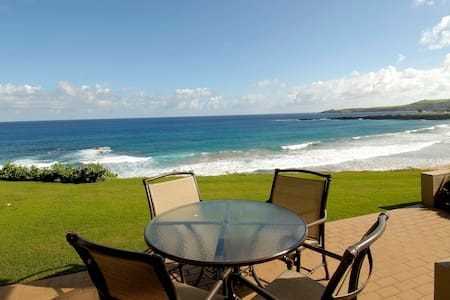 'Gold' Oceanfront Kapalua Bay Villa - The Best!!! - Kapalua