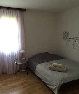 Cosy & central room near Lucerne - Lejlighed