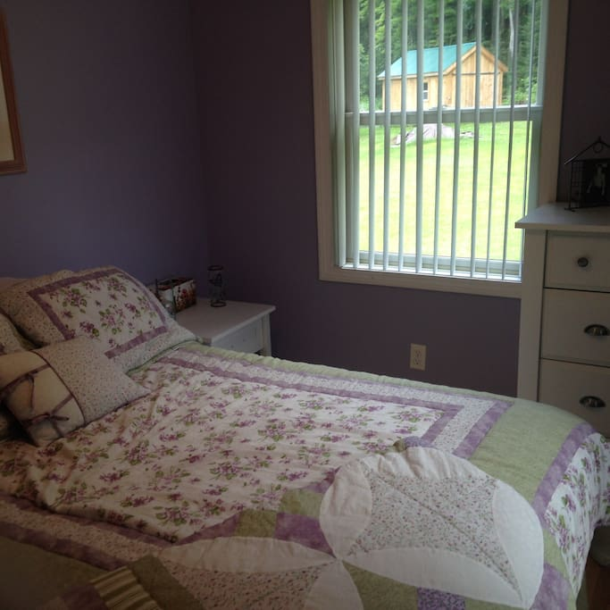 Guest room #1 Purple room two guests