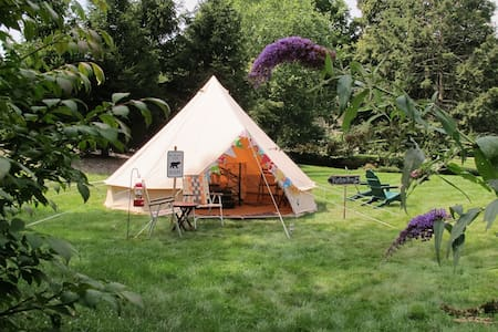 Vintage Style Canvas Bell Tent - Wall Township