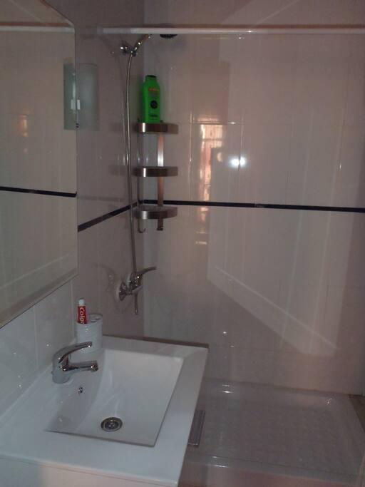 baño gel de baño y manos, secador de pelo, ectra.