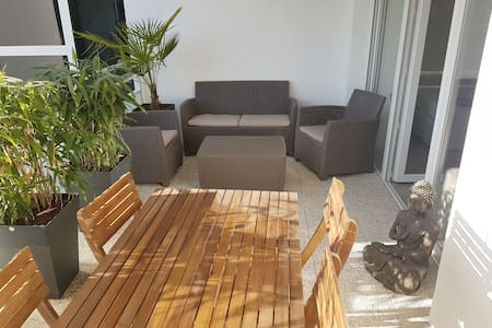 * SUPERHOST * WEST COAST wifi Terrasse 20m2 ouest