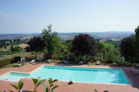 Posto meraviglioso centro Toscana 2 - Gambassi Terme - Rumah