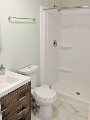 Full bathroom with Shower only