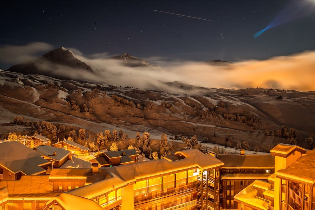Belle Plagne by night
