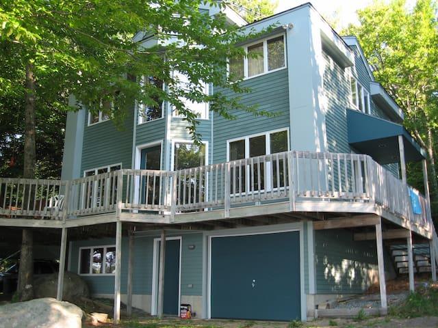 Waterfront Home on Sunset Lake - Alton Bay - House