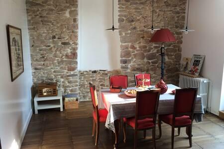 Charmant loft spacieux plein bourg - Wohnung