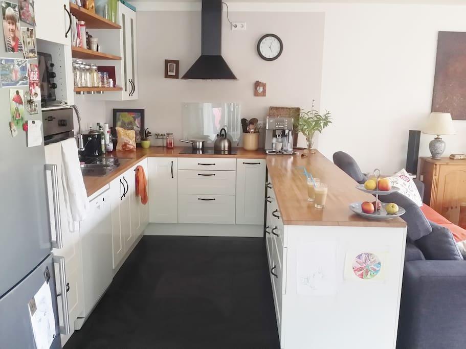 Wohnküche / living-kitchen