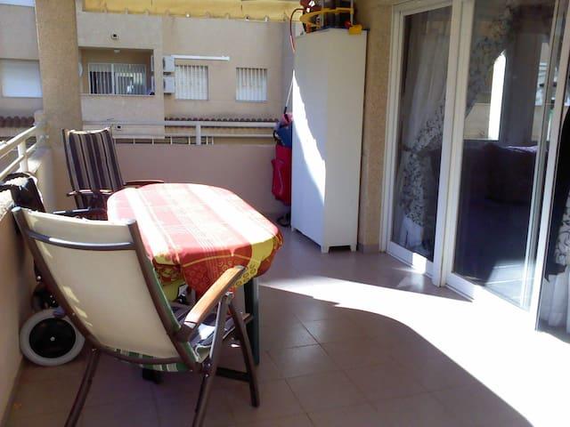 Apartamento 4 hab., terraza, PLAYA - El Grao de Castellón
