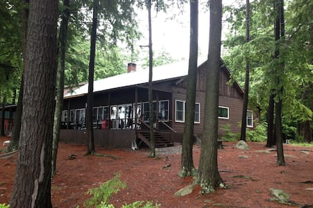 Woodland Lodge on Great Pond - Cabin