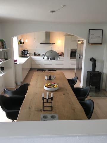 Lækkert hus -stor have og terasse! - Ringkøbing - House