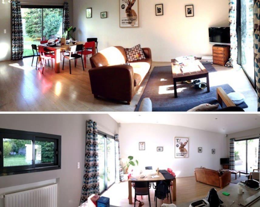 Maison d 39 architecte familiale houses for rent in nantes pays de la loire france - Maison architecte mark dziewulski ...