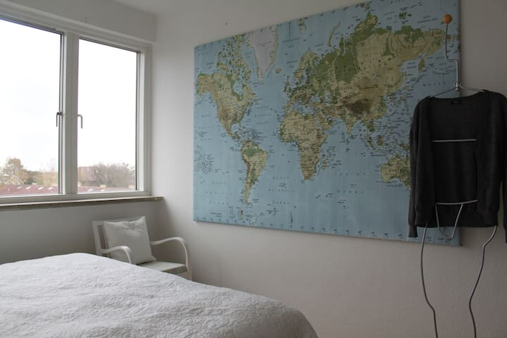 Bright and spacious apartment - Kopenhag
