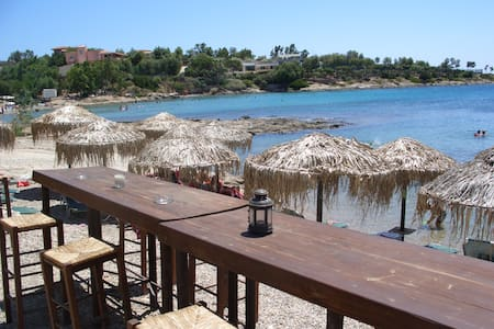 Island vocations in Athens Riviera - Kalyvia Thorikou - Apartamento
