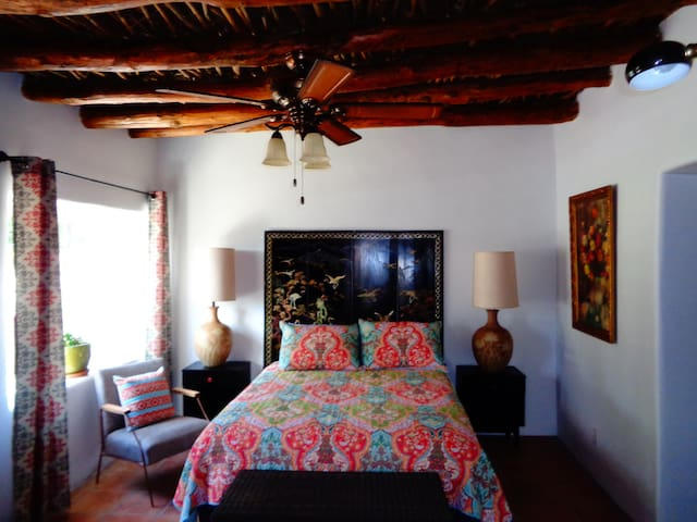 Authentic Adobe Mexican Casa Historic District - Las Cruces - Huis