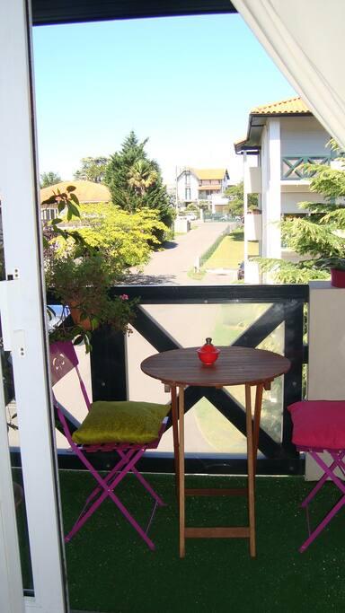 Vue 1 depuis la terrasse