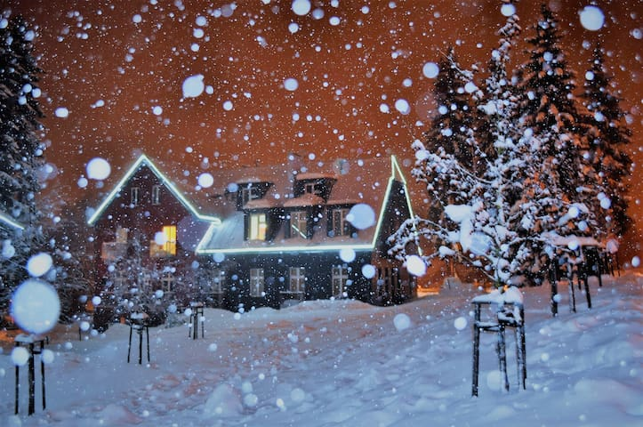 Friendly appartment in resort Resident - Harrachov - Rumah