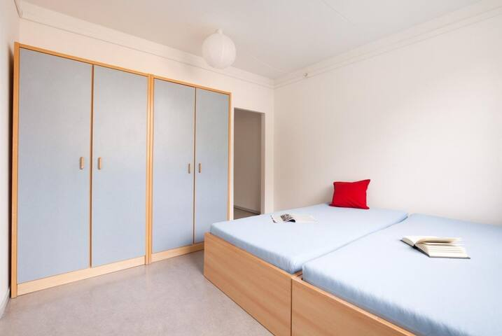 1 Zimmer in Doppel Appartement