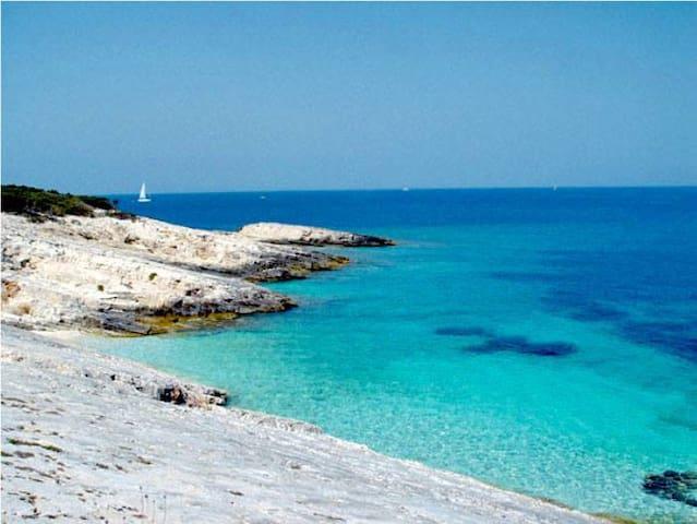 Proizd island beach