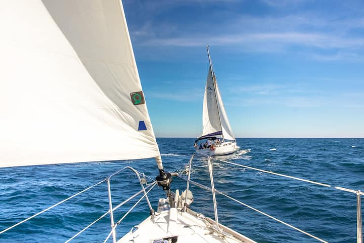 Sail through the Mediterranean Sea