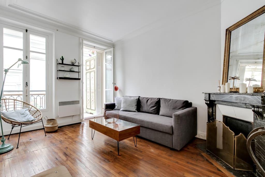 Appartement design avec terrasse appartements louer for Restaurant avec terrasse ile de france
