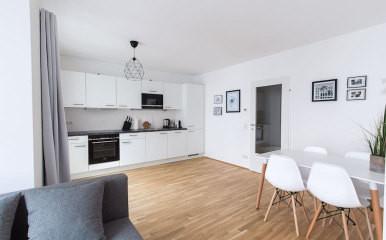New, Gorgeous Apartment Close to the City Center