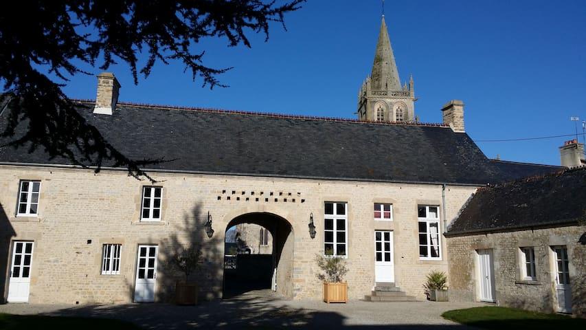 B& B, Le Clos du Mont, Azur Room - Saint-Côme-du-Mont - Bed & Breakfast