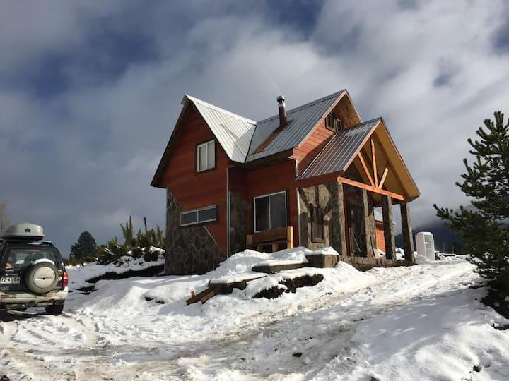 Cabaña en Malalcahuello Centro de Ski Corralco