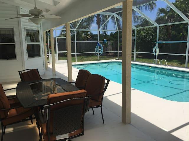 Merritt Island Private Pool Home