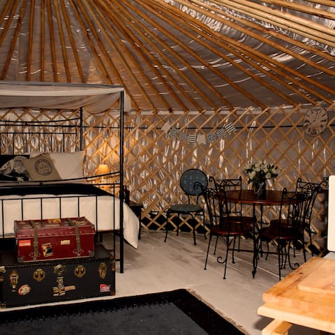 'Genoa'  a luxurious yurt with sea & harbour views - Emsworth - Jurte