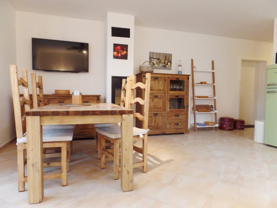 beim windm ller 1 whg mit terrasse und sauna apartments for rent in koserow mecklenburg. Black Bedroom Furniture Sets. Home Design Ideas
