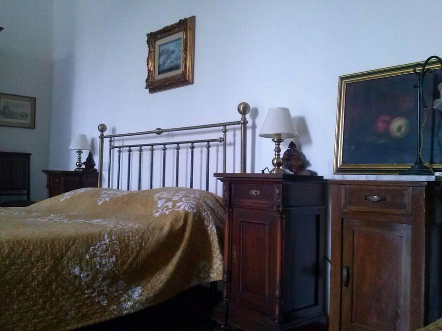 Particolare della camera