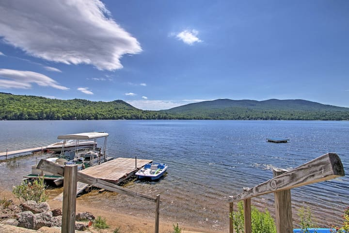 NEW! Lake Stinson Cottage w/Sunroom & Shared Dock!