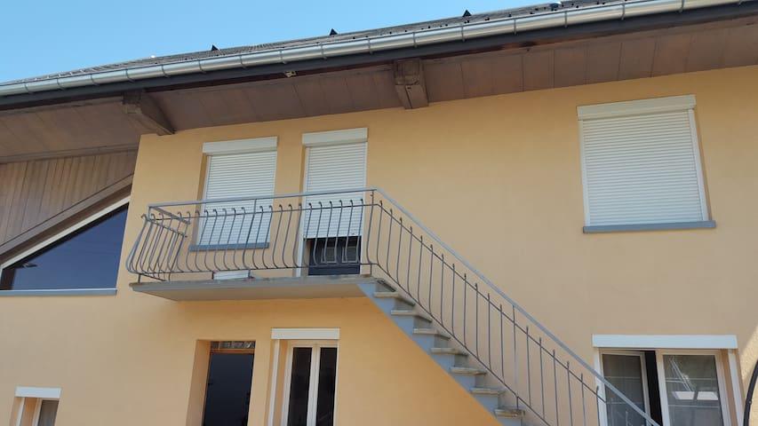 Studio indépendant dans maison - Marcellaz-Albanais - House