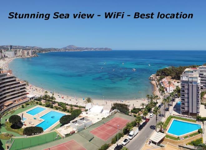 GREAT SEAVIEW - WIFI - BEST LOCATION