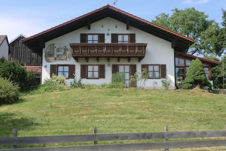 Beautiful holiday flat in the Bavarian Forest - Schöllnach - Appartement