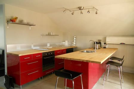 Historic Neighborhood Garage Studio - Appartement