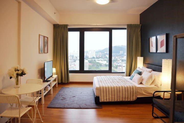 GRACE | Amazing City Studio Suite | 娇小玲珑又潮的市区套房