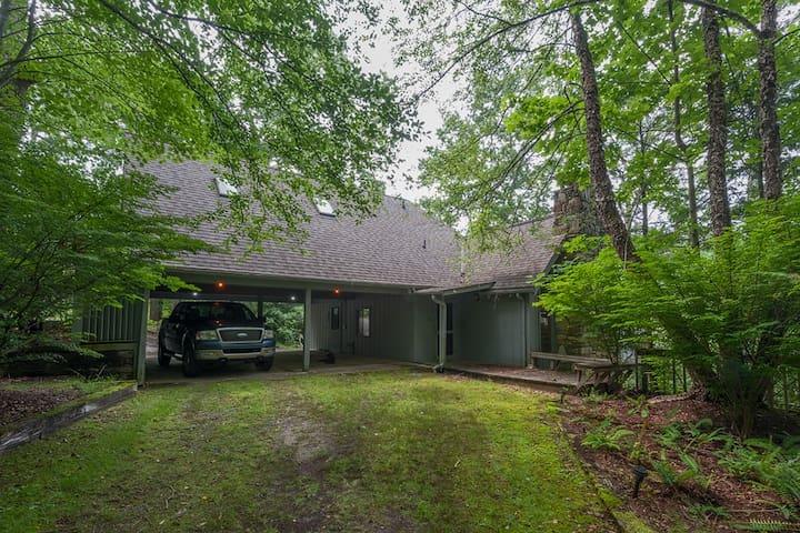 Private home w/ pond & mtn views - Brevard