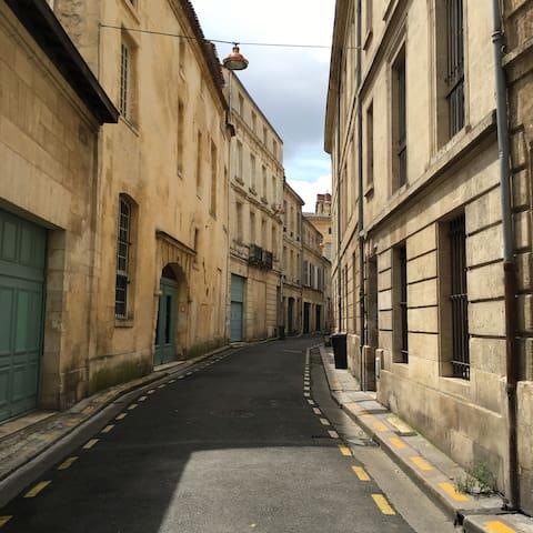 Studio cosy centre historique Bordeaux - Bordeaux - Wohnung