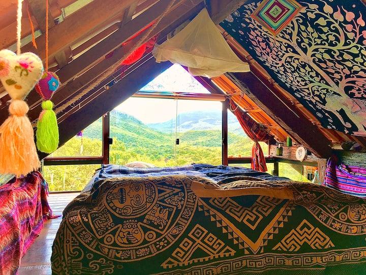 Charmosa Cabana na montanha no Vale do Capão!!!